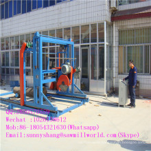 Sale Double Circular Saw Blade Machine for Cutting Wood