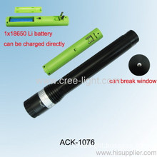 Rotary Dimming With 18650 Battery Charger Zoomable Cree Flashlight Ack-1076