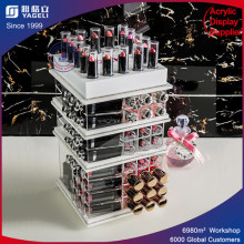 Fashionable Clear Acrylic Lipstick Display