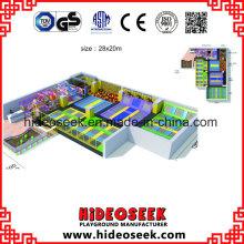 Équipement énorme adapté aux besoins du client de parc de trampoline de gymnastique
