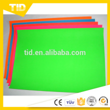 Bande fluorescente de film de vinyle de signe extérieur de PVC de haute qualité