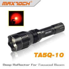 Antorcha recargable Durable Maxtoch TA5Q-10 ejército linterna