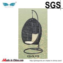 Cadeira de suspensão de vime do Rattanegg do balanço do jardim (ES-OL172)