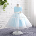 девочек бальное платье девушки платье синий цвет подгоняйте Размер платья девушки цветка