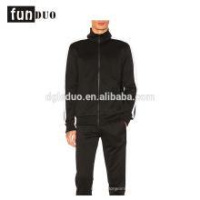 Hommes sport robe noir courant ensembles manteau et pantalon ensembles pour garçons hommes sport robe noir courant ensembles manteau et pantalon ensembles pour garçons