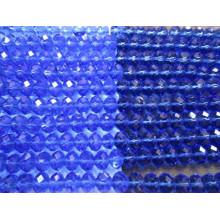 Granos redondos azules Granos de la joyería Piedras con agujero