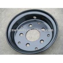 Вспомогательный вилочный погрузчик расколол небольшие колесные диски 5.00F-10 (колесные погрузчики)