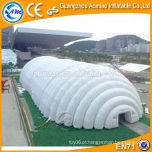 Tenda clara inflável de acampamento, tenda transparente, toldo inflável venda