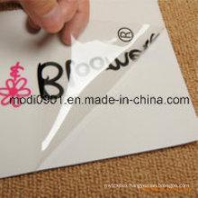 Transparent Vinyl Sticker Window Cling Sticker
