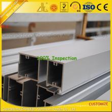 ISO 9001 Anozided Aluminium Extrusion Profiles for Window and Door