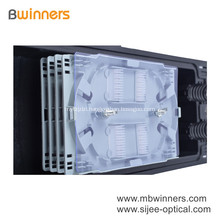 4 Trays Mount Fiber Optic Enclosure Ip67 2 In And 2 Out 96 Core