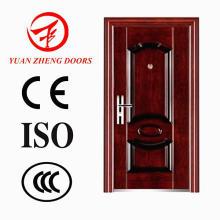 Neues Modell Hölzerne Farbe Ökonomische Eisen Tür