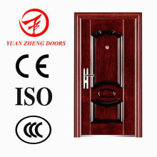New Model Wooden Color Economical Iron Door