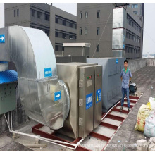УФ фотолиза очистки газоочистного оборудования отходов