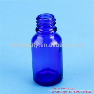 Bouteilles d'huile essentielle de 20 ml couleur bleu / vert