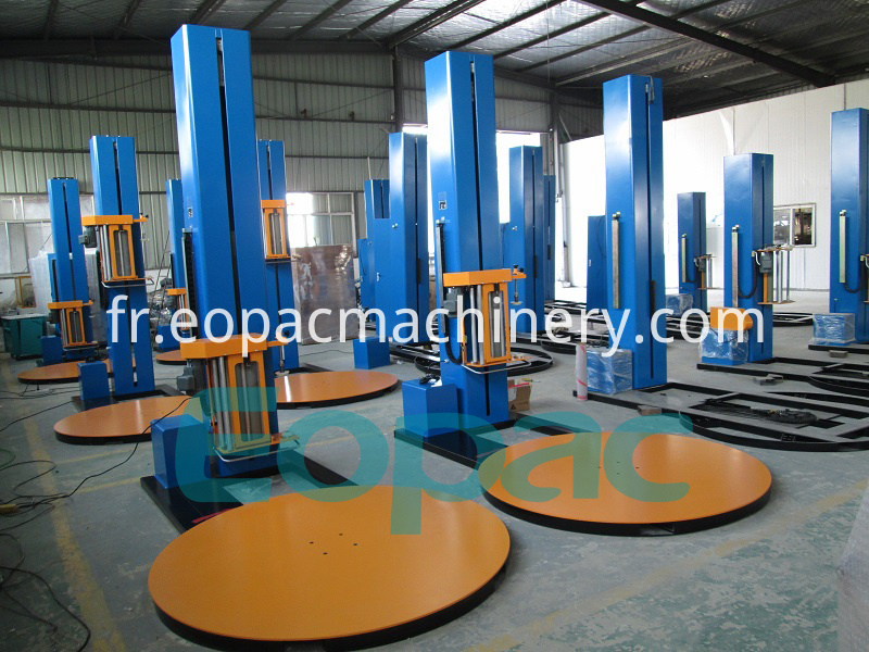 Pallet Stretch Film Packing Machine