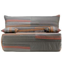 Linentte 100% de polyester de tissu décoratif pour la décoration de sofa