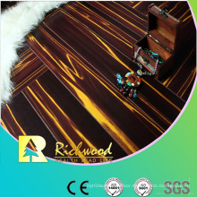 Household 12.3mm Mirror Cherry Water Resistant Laminate Flooring