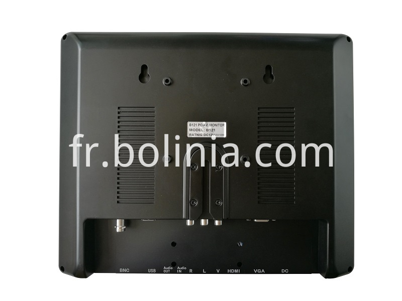 12.1 INCH LCD MONITOR BACK