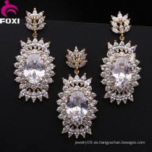 Fabricación de la joyería de Guangxi Foxi Jewelry CZ