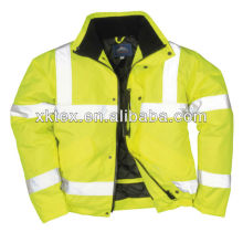 EN531 HV FR safety jacket with reflective tape