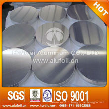 Горячекатаный 3003 Антипригарный алюминиевый круг для посуды