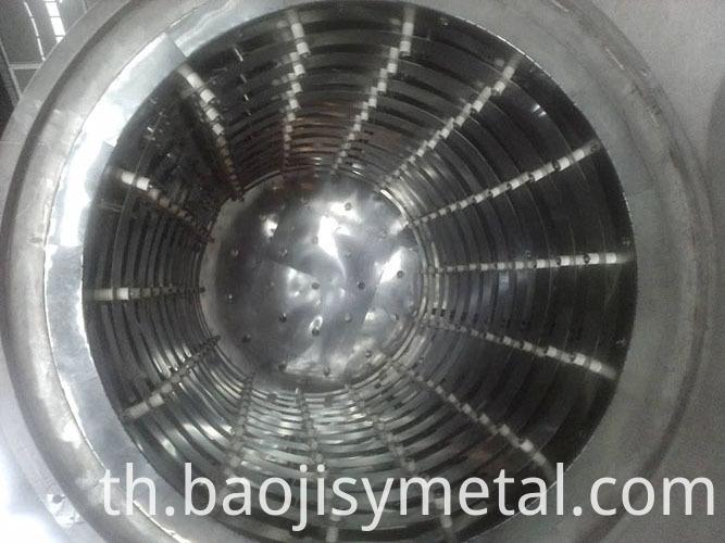 molybdenum heating chamber
