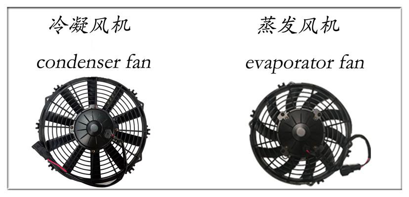 van cooling unit