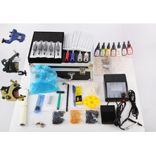 Wholesale Professional Tattoo Kits with 3 Guns Tattoo Machine Supply
