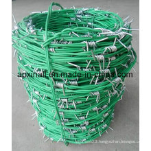 Plastic Coated Agriculture Fence Barbed Wire Galvanized-Xinao