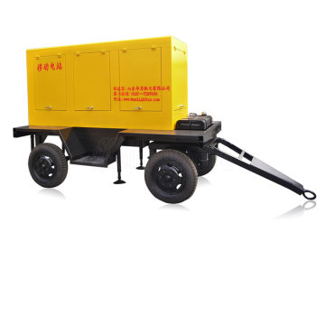 Mobile Generator Trailer Station 20kw