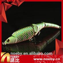 NOEBY 3 seções segmentadas minnow pesca isca difícil isca