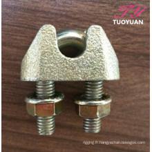 Fonte malléable Clips DIN1142 câble pince