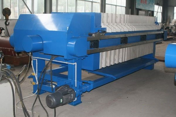 chemical industry plate and frame filter press