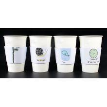 China Made Reutilizável personalizado Café mangas do copo