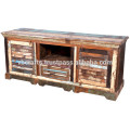 recycle wood tv stand
