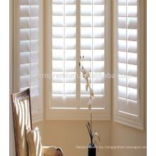 Obturadores de ventana de plantación y varios tipos de piezas de obturador de ventana al por mayor