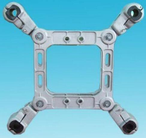 JZF Square Frame Spacer Damper