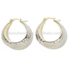 Bijoux de mode en gros Pave Clear CZ Boucles d'oreilles boucles d'oreilles de charme wholesale fashion jewelry China supplier