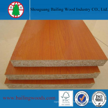 Cherry Melamine Laminated Particle Board From Manufacturture