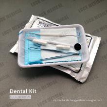 Einweg-Untersuchungskit für zahnärztliche Instrumente