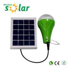 Fábrica por mayor Mini portátil Solar Powered Led luz