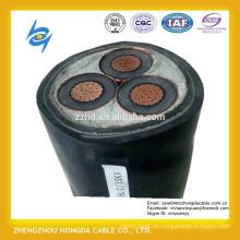 Cable de alimentación aislado con XLPE de media volatge para transmisión eléctrica