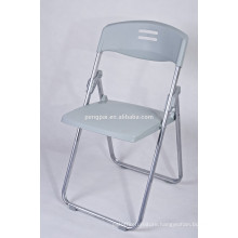 simple student chair with metal leg /folding small chair