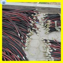 Tuyau de pression flexible en caoutchouc de tuyau d'huile de R13