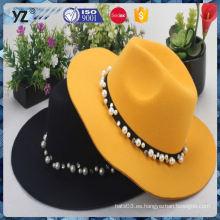 Precio razonable de los sombreros florales de las mujeres del béisbol del diseño del OEM de la venta directa de la fábrica