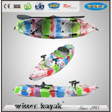 Single Plastic Fishing Kayak with Baby Seat From Winner Kayak