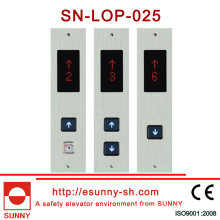Stainless Steel Face Plate Lop with Hairline Box (CE, ISO9001)