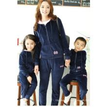 Velvet Family Suit Girl Suit and Boy Suit