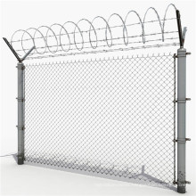 Manufacture Galvanized Chain Link Fence Hot Products Pvc Coated Fence Wire Chain Link Fence Price